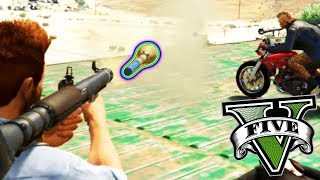 RPG ON BIKES - GTA 5 ONLINE FUNNY MOMENTS