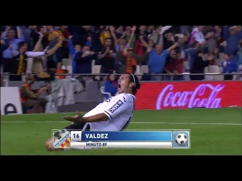 La Liga | Valencia CF - Athletic Club (3-2) | 20-10-2012 | J8 | Resumen