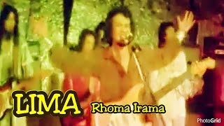 "Lima - Rhoma Irama - Original Video Clip of film ""Cinta Segi Tiga"" - Th 1979"