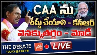 LIVE: Debate On CM KCR Cabinet to Pass Resolution Against CAA | PM Modi | Telangana News | YOYO TV