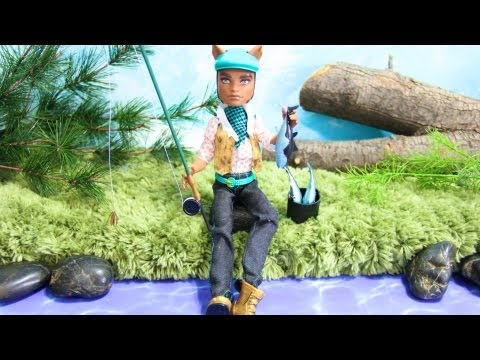 How to Make a Doll Fly Fishing Rod
