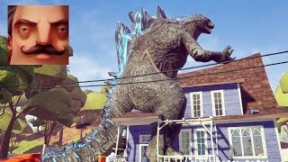 Hello Neighbor - My New Neighbor Godzilla Act 1 Gameplay Walkthrough Part 474