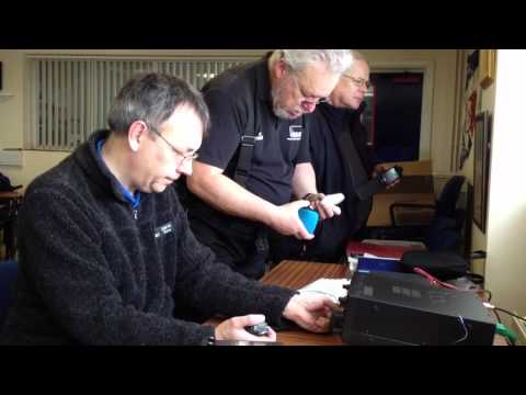 Norfolk Amateur Radio Club at Caister Lifeboat
