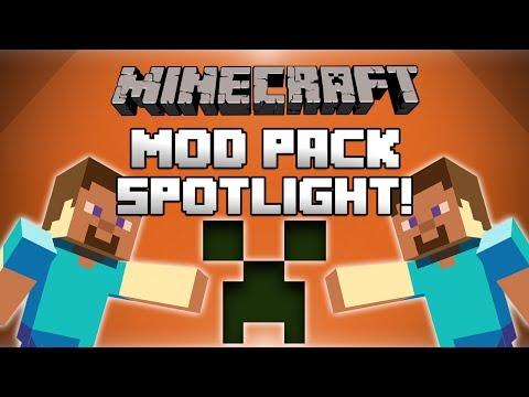 Minecraft Mod Pack Spotlight Funny Moments! - CRAZYCRAFT!