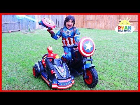 NATURAL DISASTER SURVIVAL Family Fun Kids Pretend Playtime Ryan ToysReview