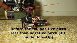 WLtoys V977 Power Star X1 - Fix for not enough lift