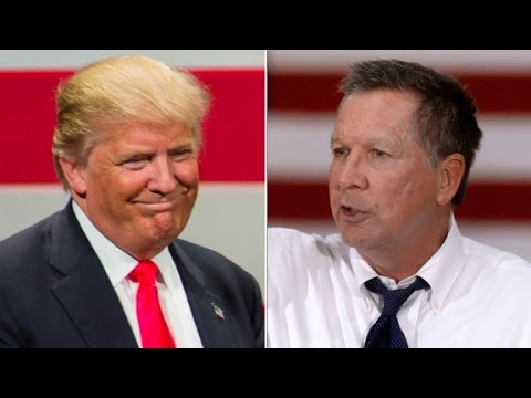 Source: Trump campaign reached out to Kasich for VP