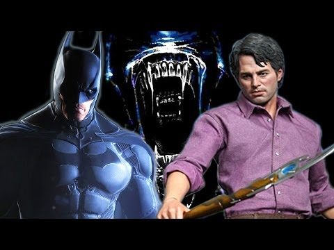 Bruce Banner, Bruce Wayne, and Bruce Alien on Collectibles Corner!