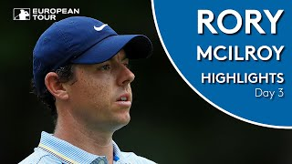 Rory McIlroy Highlights | Round 3 | 2019 Omega European Masters