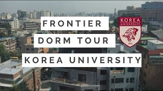 Korea University: International Summer Campus- Frontier Dorm Tour