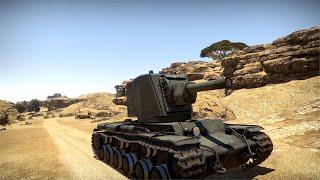 War Thunder - KV-2 (aka king of derp) montage