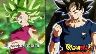 Dragon Ball Super Episode 116 Power Levels HD
