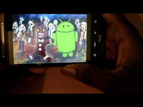 Android 2.3 review on the htc desire HD