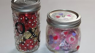 DIY Candy Jar for Valentine