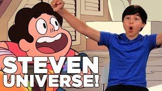 Steven Universe star Zach Callison is here! Woohoo!