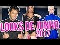 DENÚNCIA FASHION - LOOKS DE JUNHO 2017 ft. Maíra Medeiro | Diva Depressão