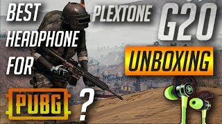 Budget Headphones for gaming | plextone G20 gaming headset unboxing | TAMIL