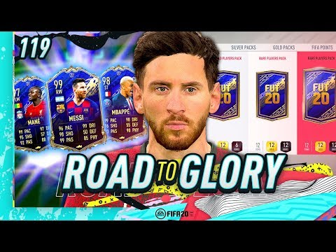 FIFA 20 ROAD TO GLORY #119 - OPENING MY TOTY PACKS!!