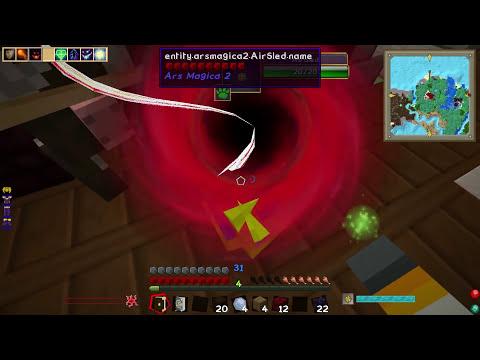 Minecraft Magic Police #57 - Hell Cow vs Triton