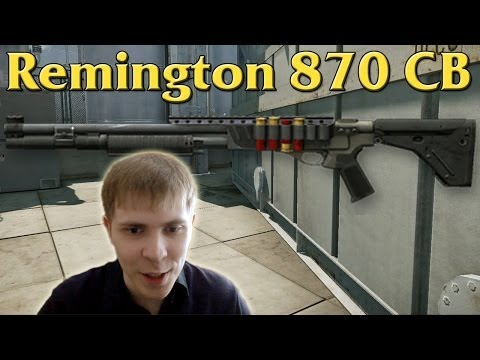 Warface: Remington 870 CB на Нефтебазе