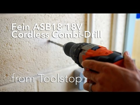 Fein ASB18 18V Cordless li-ion Heavy Duty Combi Drill from Toolstop