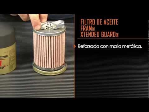 Filtros de aceite, cómo funcionan de la filtración FRAM