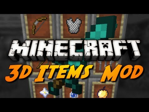 Minecraft Mod Review: 3D ITEMS MOD! + Your Favorite Mods?