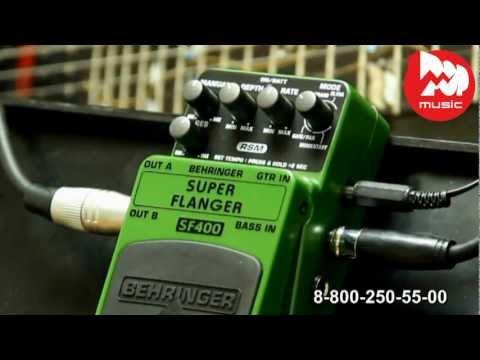 Гитарный эффект BEHRINGER SF400 SUPER FLANGER