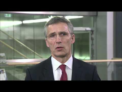 Doorstep by Mr Jens Stoltenberg, The Secretary General of NATO