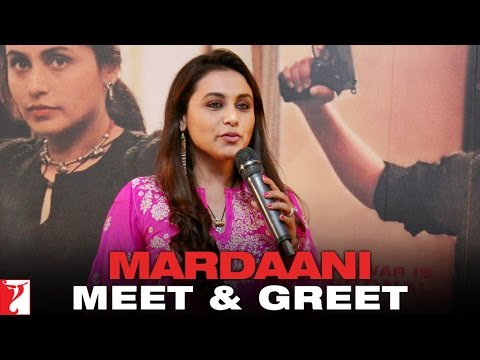 Meet-n-Greet with Rani Mukerji - Mardaani