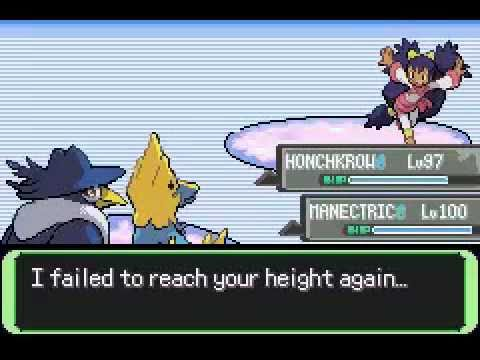 Pokemon Flora Sky (Emerald Hack) All Gym Leaders Rematch - Final Team