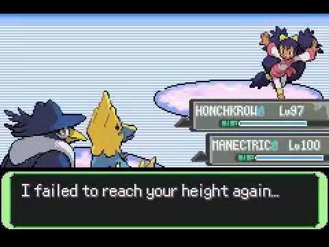 Pokemon flora sky emerald hack all gym leaders rematch final team
