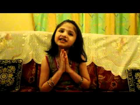 Nimilika Singing Marathi Bhajan  Deva Majha Vitu Savala video