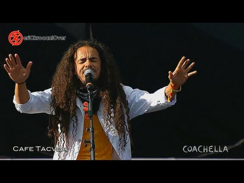 CAFE TACVBA COACHELLA 2013 - Ingrata HD !