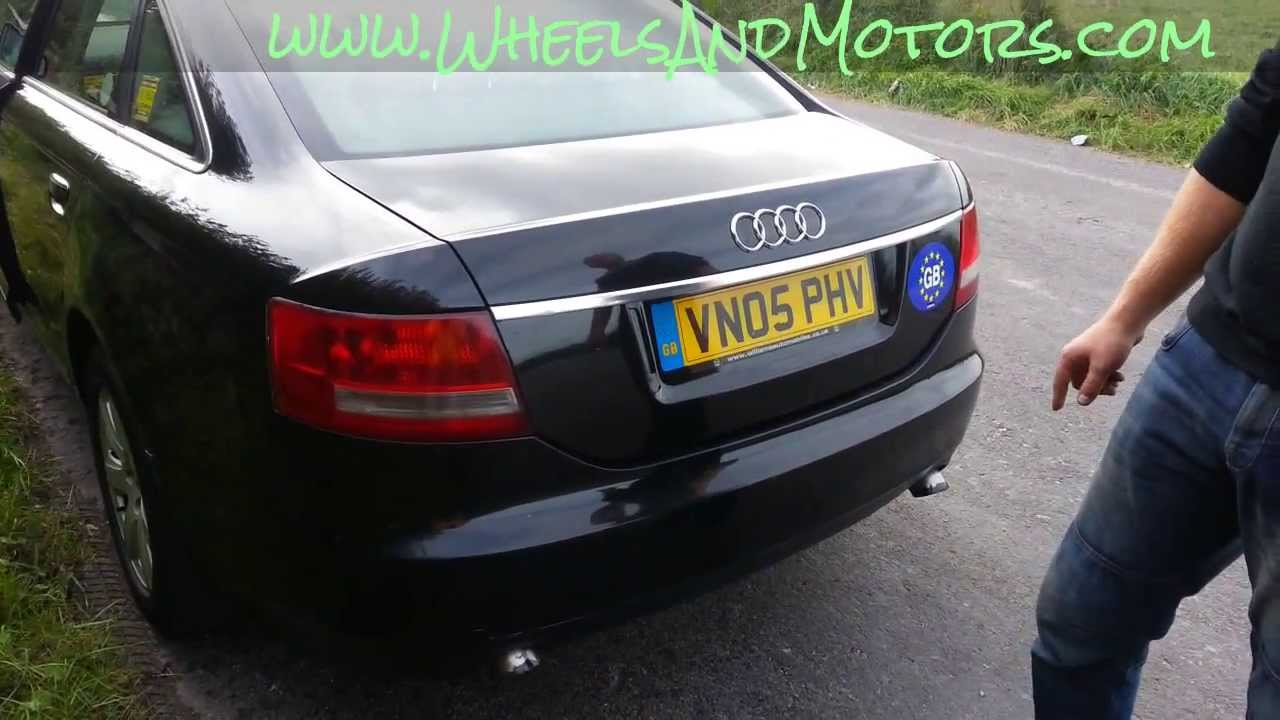 How To Replace Rear Light Bulb On Audi A6 C6 4f Youtube
