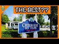 Best RV Campground in The Smoky Mountains?  Creekside RV Park Review