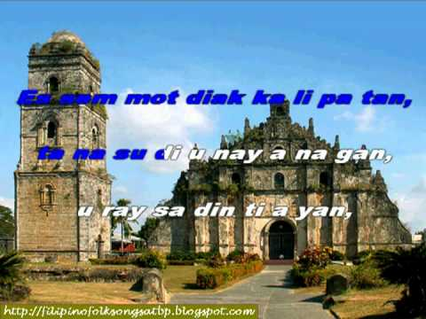 Ilocano Folk Song: Pamulinawen (instrumental With On-screen Lyrics) video