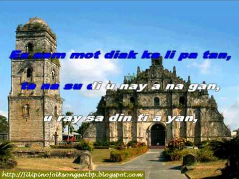 Ilocano Folk Song: Pamulinawen (instrumental With On-screen Lyrics) video
