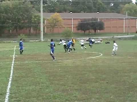 CCA Varsity Boys Soccer 10/1/12 vs. Emmanuel Christian School Part 1
