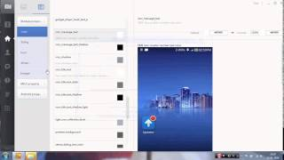 MIUI THEME EDITOR v 4 12 11  latest version  january 2015   Video tutorial   YouTube