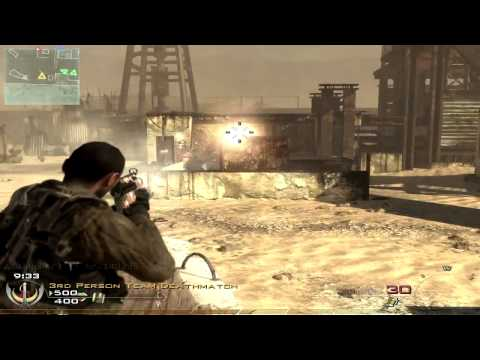 Call of Duty Modern Warfare 2 PC Multiplayer 3rd Person Team Deathmatch HD
