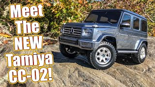 Cross Country Crawling! Tamiya Mercedes Benz G 500 CC-02 1/10 Truck Review | RC Driver
