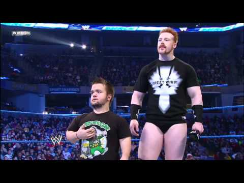 0 Friday Night SmackDown   Sheamus vowed to win the 2012 Royal Rumble Match