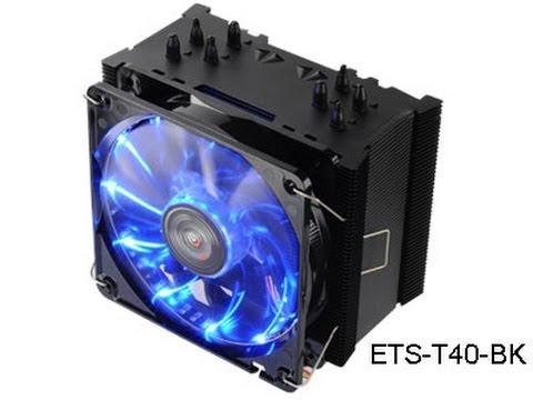 Enermax Black Twister CPU Cooler Video Review