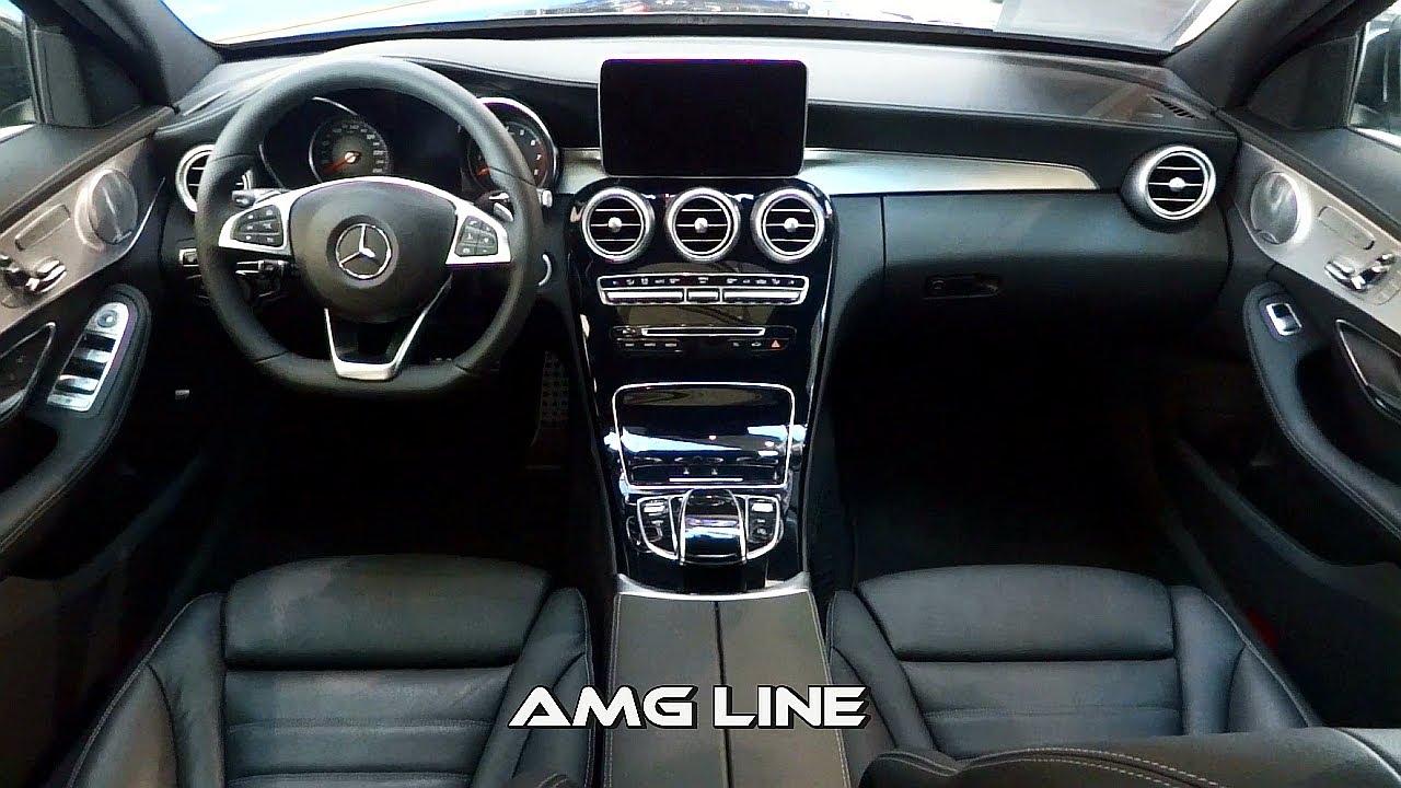 2014 mercedes c class interior amg line vs exclusive line