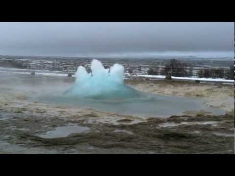 Strokkur Geyser in Iceland