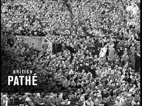 Pathe News Special - England V Austria (1951)