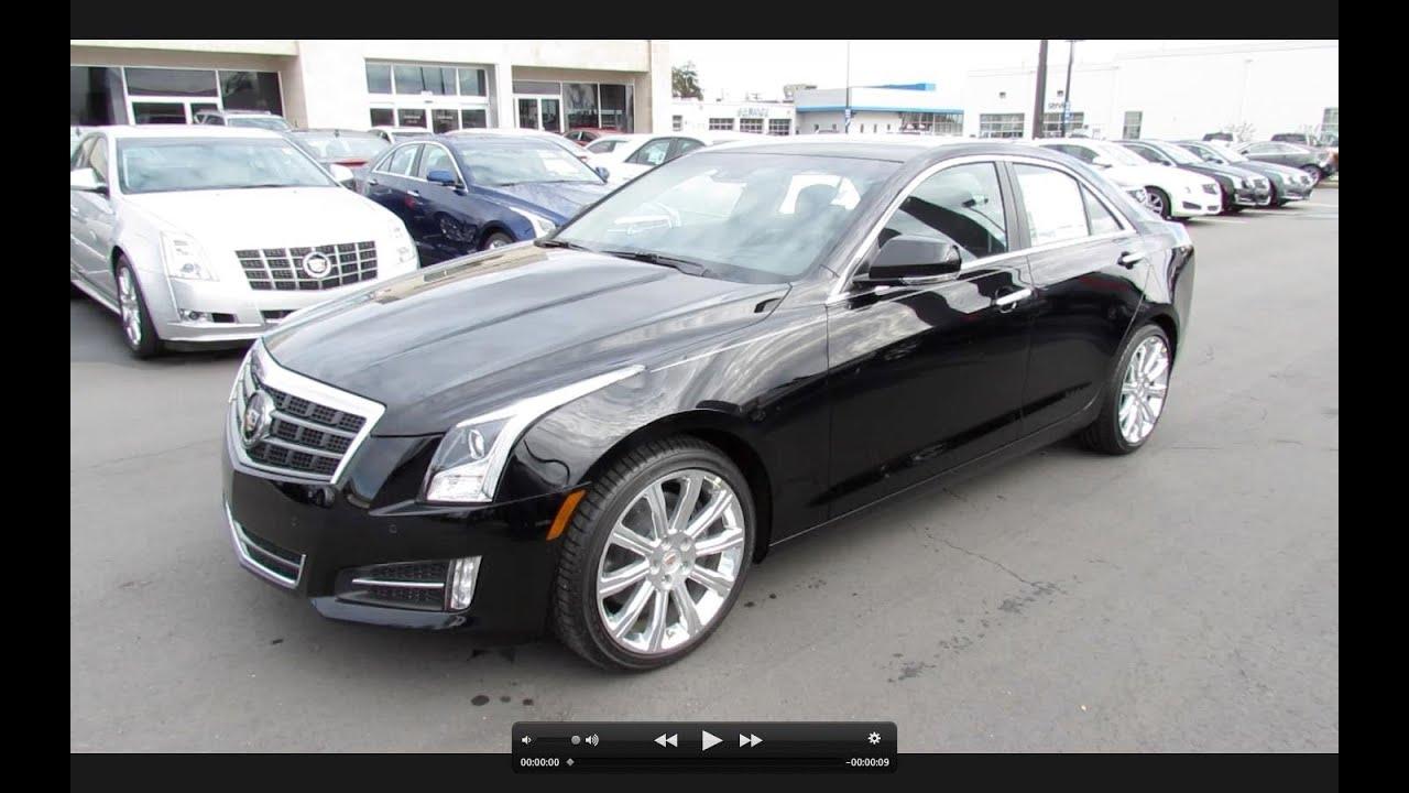 2013 Cadillac ATS Premium (3.6 & 2.0T) Start Up, Exhaust ...