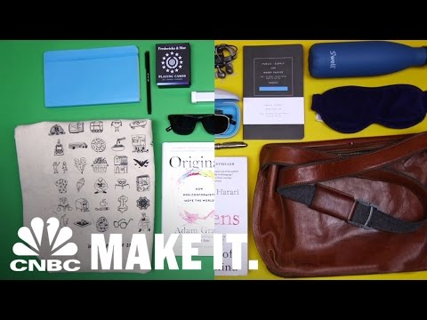 Warby Parker Founders Reveal Their Travel Secrets | Go Kit | CNBC Make It.