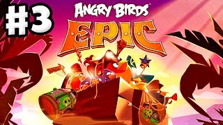 Angry Birds Epic - Gameplay Walkthrough Part 3 - Explosive Bomb! (iOS, Android)